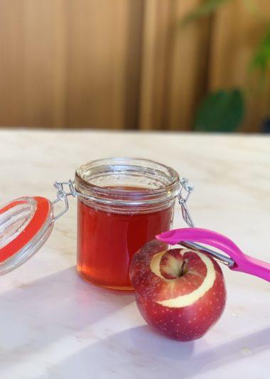 gelée épicée trognons de pommes