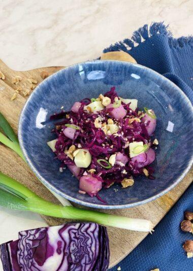 Salade de chou rouge _ pomme de terre