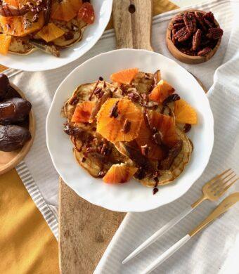 pancakes orange