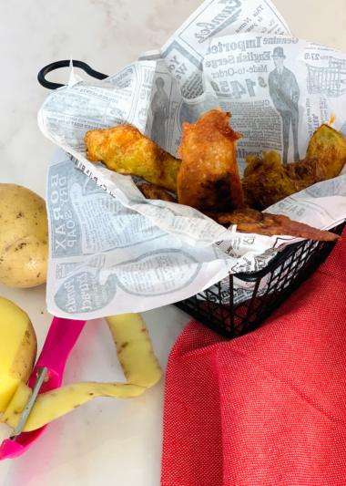chips poulet frites