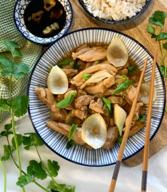 poulet sauce huitre