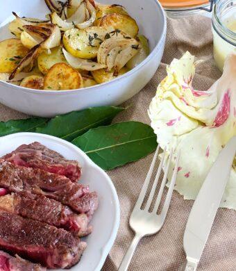 pommes de terre et boeuf