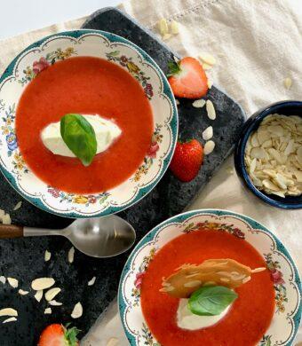 soupe fraises