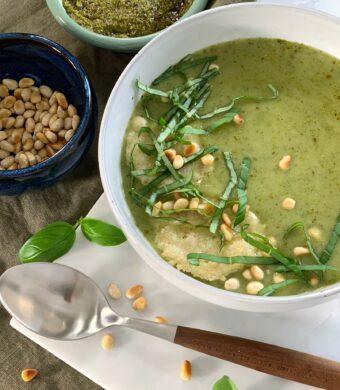 soupe courgettes