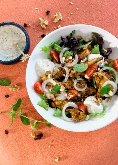 salade poulet yaourt