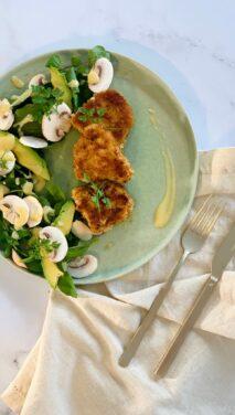 porc salade citronnée