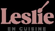 Leslie en Cuisine Logo 2021 - rose